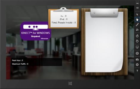 Kinect Counter